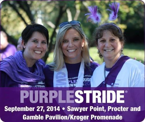 Pancreatic Cancer Purple Stride 2014